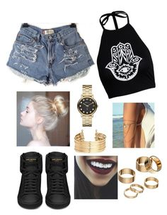 """""""Untitled #34"""" by jessicamallot on Polyvore featuring Boohoo, Yves Saint Laurent, Apt. 9, H&M and Marc by Marc Jacobs"""