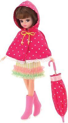 Takara-Tomy-Licca-Doll-LW-10-raincoat-not-includes-a-doll-only-clothes