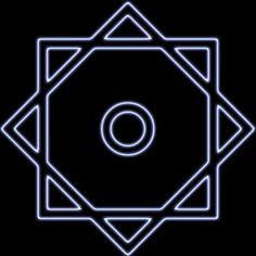 """RUB DEL HIZB es una estrella de ocho puntas que se usa en el Corán para indicar el fin de un capítulo En árabe, rub significa """"cuarta"""" e hizb significa """"parte"""" o """"partido"""", por lo que vendría a significar """"cuarta parte"""". Parece ser que es una representación del paraíso, que según la creencia islámica está rodeado de ocho montañas."""