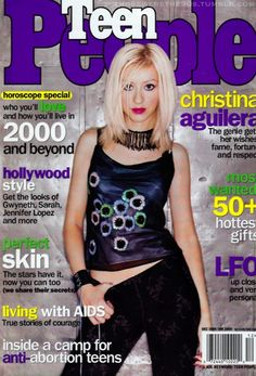 Totally bought this issue. Xtina was my idol when she first came on the scene!