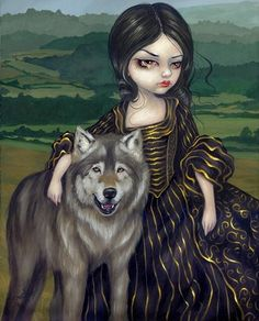 vampire-artworkd-gothic-wolf-painting.jpg 363×450 pixels