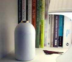 Stoneware Fine Bone Bottle  by Made By Manos