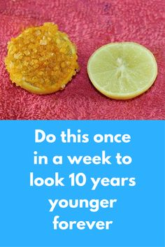 Do this once in a week to look 10 years younger forever Today I will tell you one very simple remedy that will help your skin to look younger and you will look beautiful always. This is a very simple treatment and you need ingredients easily available in your kitchen For this you will need Turmeric Sugar Lemon A clean bowl Steps to follow: In a bowl …