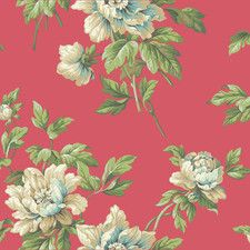 """Casabella II Document 33' x 20.5"""" Floral and Botanical Wallpaper"""
