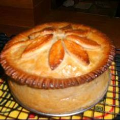 There's nothing quite like a pork pie whether the recipe in question is for ham, bacon or cubed pork shoulder pies. Try a hot or cold pork pie today! Uk Recipes, Cooking Recipes, Pastry Recipes, Curry Recipes, Cooking Ideas, Dinner Recipes, Strudel, Pork Pie Recipe, A Food
