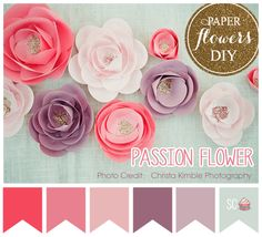 ❤ =^..^= ❤    Inspire Sweetness!: Passion Flower - Color Palette
