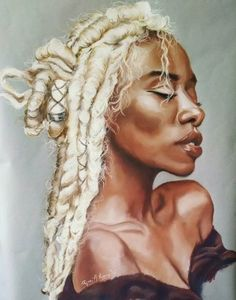 Black is Beautiful Black Artwork, Magic Art, Black Artists, Black Women Art, Black Girl Magic, Most Beautiful Women, Female Art, Art Pictures, Her Hair