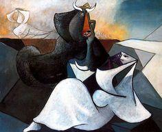 Tauromaquia, 1943. Cubismo - Óscar Domínguez