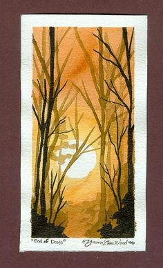 End of Days postcard by DawnstarW.deviantart.com on @DeviantArt