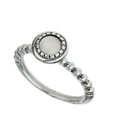 Miss Selfridge White Stone Ball Ring (32 BRL) ❤ liked on Polyvore featuring jewelry, rings, white, stackable rings, white stone jewelry, miss selfridge, stone jewelry and stone ring