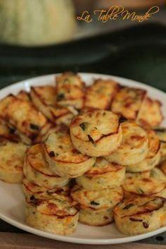 Bouchées de courgettes à la mozzarella