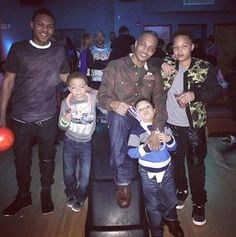 """Messiah Ya' Majesty Harris and Clifford 'King' Harris IIIRapper T.I. (real name Clifford Harris Jr.) is dad to five kids, including sons Messiah Ya' Majesty Harris (left) and Clifford Harris III (second from left), who has always gone by the name """"King."""" Harris men are destined for greatness. We raise #kings,"""" T.I. captioned this photo of himself with his four boys -- who also include sons Domani Harris (right) and Major Harris (front) in February 2014."""