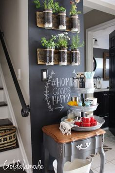 """5 Easy Ways To Add Charm To Your Spring Kitchen"" Impress your guests with these fun, budget friendly tips! Don't forget to show us how you're #HomeGoodsHappy! (sponsored pin)"