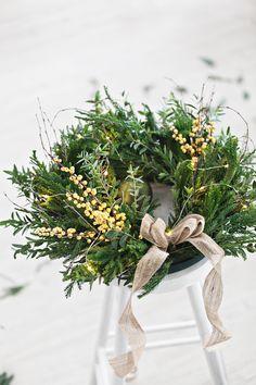 Christmas wreaths | Ilex | Eucalyptus