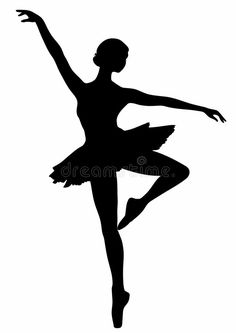 Illustration about An isolated silhouette of a ballerina. Illustration of girl, flexible, sports - 9940847 Ballerina Silhouette, Ballerina Art, Ballet Art, Silhouette Art, Ballerina Project, Ballet Dancers, Pencil Art Drawings, Easy Drawings, Ballet Drawings