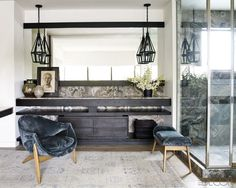 Courtney Cox's Master Bath (Elle Decor)