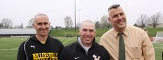 Coach Andy Young and Coach Jon Shehan went bald for St. Baldrick's in the spring.