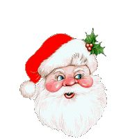 clip art et gif Christmas And New Year, Merry Christmas, Gifs, Animated Gif, Illustration, Disney Characters, Fictional Characters, Santa, Animation