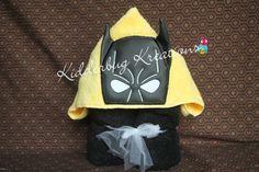 Hooded towel bat boy