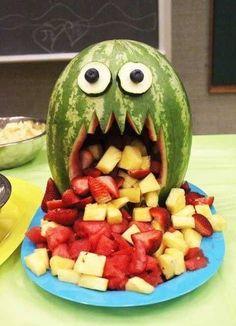 Otras frutas para el Halloween en vez de calabazas