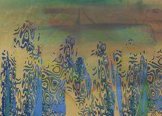 'An der Oase' von Peter Norden bei artflakes.com als Poster oder Kunstdruck $20.79