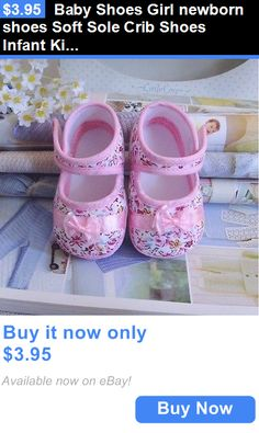 Baby Girls Shoes: Baby Shoes Girl Newborn Shoes Soft Sole Crib Shoes Infant Kid Toddler Prewalker BUY IT NOW ONLY: $3.95