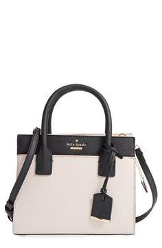 kate spade new york 'cameron street - mini candace' leather satchel