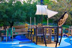 From slides to swings to whales and everything in between, we've rounded up the 10 best children's outdoor playgrounds in Los Angeles! Reese's Retreat - Pasadena (pictured)