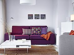 A sofa that makes a statement