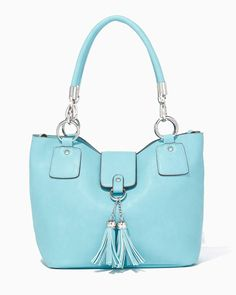 charming charlie | Wallaby Tassel Bag-in-Bag | UPC: 400000080239 #charmingcharlie