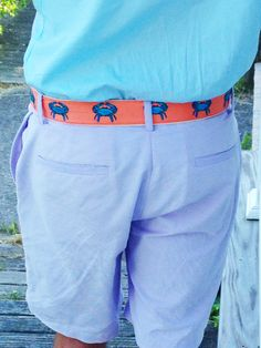 Color pop with Cj Laing shorts and belt