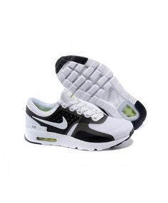 best service f469e b39f3 Nike Air Max Zero Qs Running Shoes White Black UK