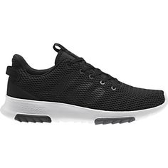 adidas Neo Men's Cloudfoam Racer TR Shoes, Black