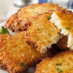 Mashed Potato Latke Recipe