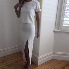 SALE | Up to 40% OFF last season @by_johnny  Shop the 'Colour Back' Tee & the 'Side Slice Very Straight' Skirt in white (and black)  RG via @the_con_nection  #by johnny #whiteonwhite #whiteskirt #wiw #wiwt #blogger #fashionblogger #sexy #style #sale #lookbookboutique #alburyboutique #streetwear #streetstyle #streetfashion #fashion #fashionblog #fashionstyle #fashiontrend #fashionblogger #boxingdaysales #onlineshopping #onlinefashionshop #trustedseller