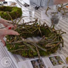 Workshop, Seaside, Cottage, Diy Crafts, Wreaths, Make It Yourself, Inspiration, Outdoor, Autumn Decorations