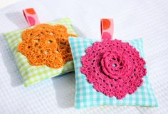 Tutorial: Crochet and Sewn Sachets | A Spoonful of Sugar