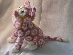 African Flower Cat Luna crochet pattern by Jo's Crocheteria #crochet…