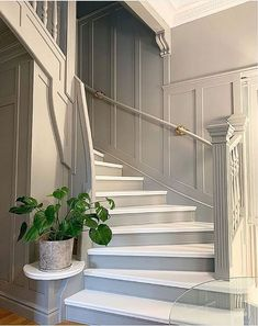Home Decorators Collection Rugs House Paint Interior, Interior Stairs, Interior Design Games, Interior Decorating, Hallway Inspiration, Porche, Beautiful Interior Design, House Stairs, Home Upgrades