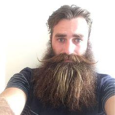 Max - full thick beautiful beard styled mustache beards bearded man men bearding #beardsforever