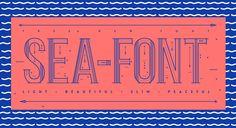 Free Font: Sea Font › FreeTypography
