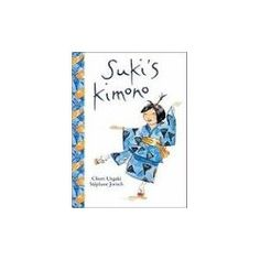 Suki's Kimono by Chieri Uegaki - When it's Suki's turn to share with her classmates what she did during the summer, she tells them about the street festival she attended with her obachan and the circle dance that they took part in. Filled with gentle enthusiasm and a touch of whimsy, Suki's Kimono is the joyful story of a little girl. (Tumblebooks)*