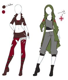 Character outfit inspiration