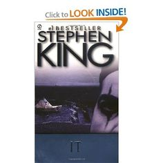 My other most favorite Stephen King book! I love most of them, but IT is one of the best!