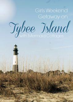 Tybee Sleepover - Girls Weekend Getaway - PartiesforPennies.com #beach #tybee