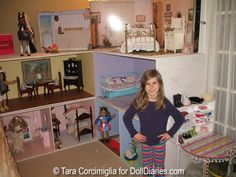 American Girl dollhouse == if my little girls obsession continues, it may lead to this!!!