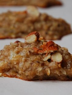 Cookie delicioso com apenas 2 ingredientes Tapenade, Cookies, Baked Potato, Risotto, Bacon, Food And Drink, Low Carb, Chicken, Meat