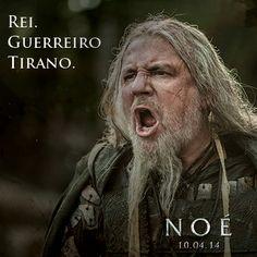 """Ray Winstone é Tubal-Caim em """"Noé"""" de Darren Aronofsky. 10 abril nos cinemas. http://www.noe-ofilme.pt"""