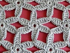 Part How to crochet motif for scarf shawl poncho. Part 2 Fuente - Source Crochet Poncho Shawl Scarf. Form Crochet, Crochet Diagram, Crochet Motif, Irish Crochet, Crochet Flowers, Crochet Classes, Crochet Videos, Crochet Projects, Poncho Knitting Patterns