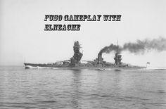 World of Warships Fuso gameplay footage
